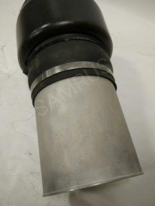 Восстановленный пневмобаллон на Мерседес W211